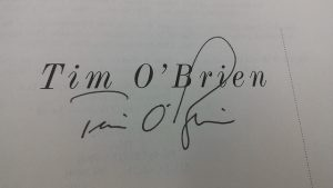 Tim O'Brien signature