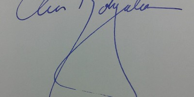 Chris Bohjalian signature