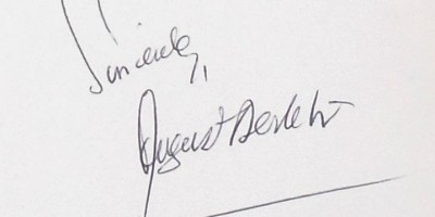 August Derleth signed