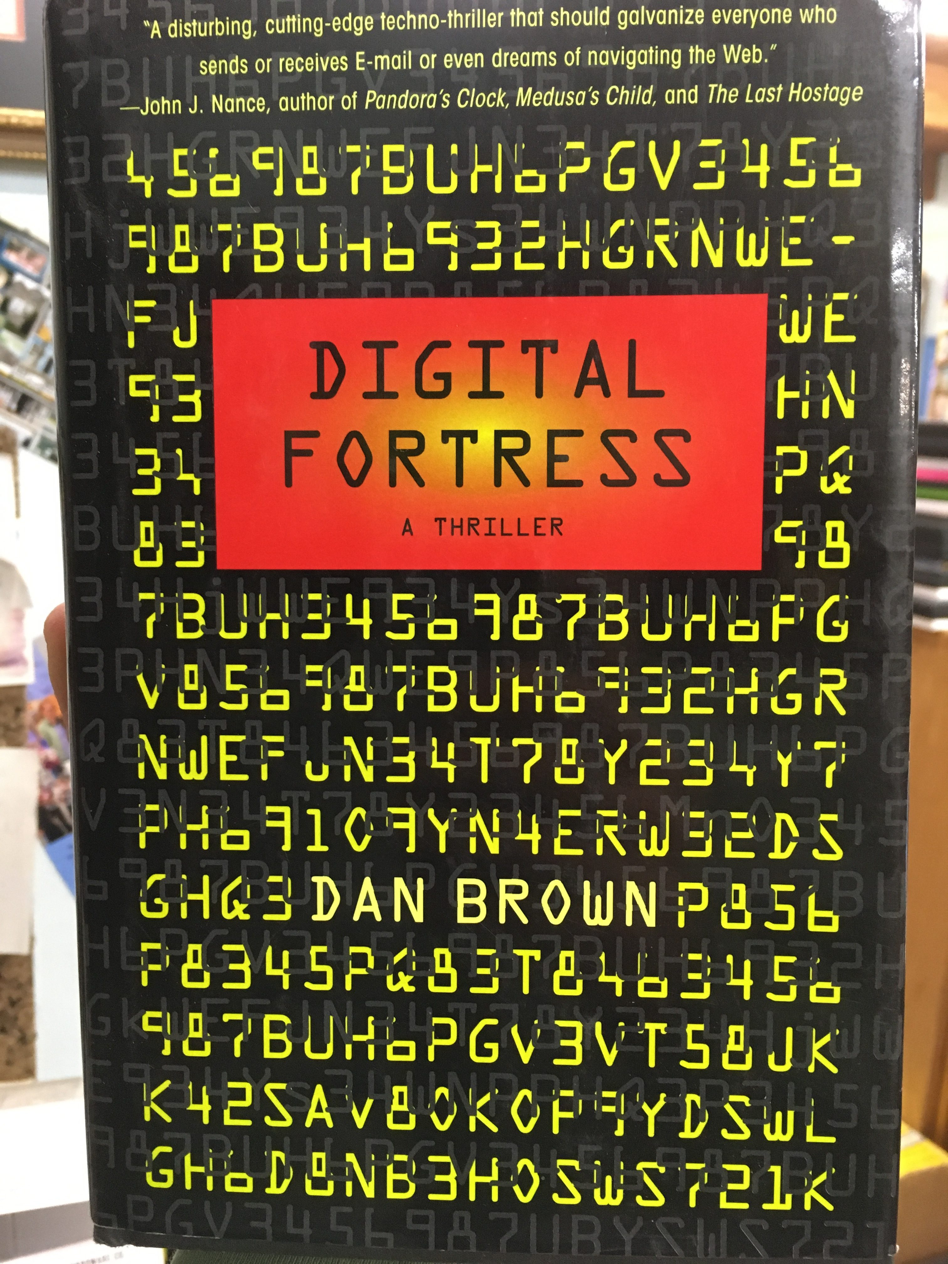Browsers bookstore newsletter for october 2016 browsers bookstore although the da vinci code craze has ended theres no denying the influence of that book browns earlier work digital fortress used to be considered fandeluxe Image collections
