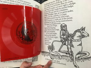chaucer coloring book with record