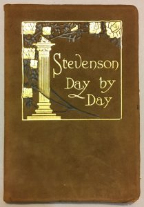 Robert Louis Stevenson leather gift book