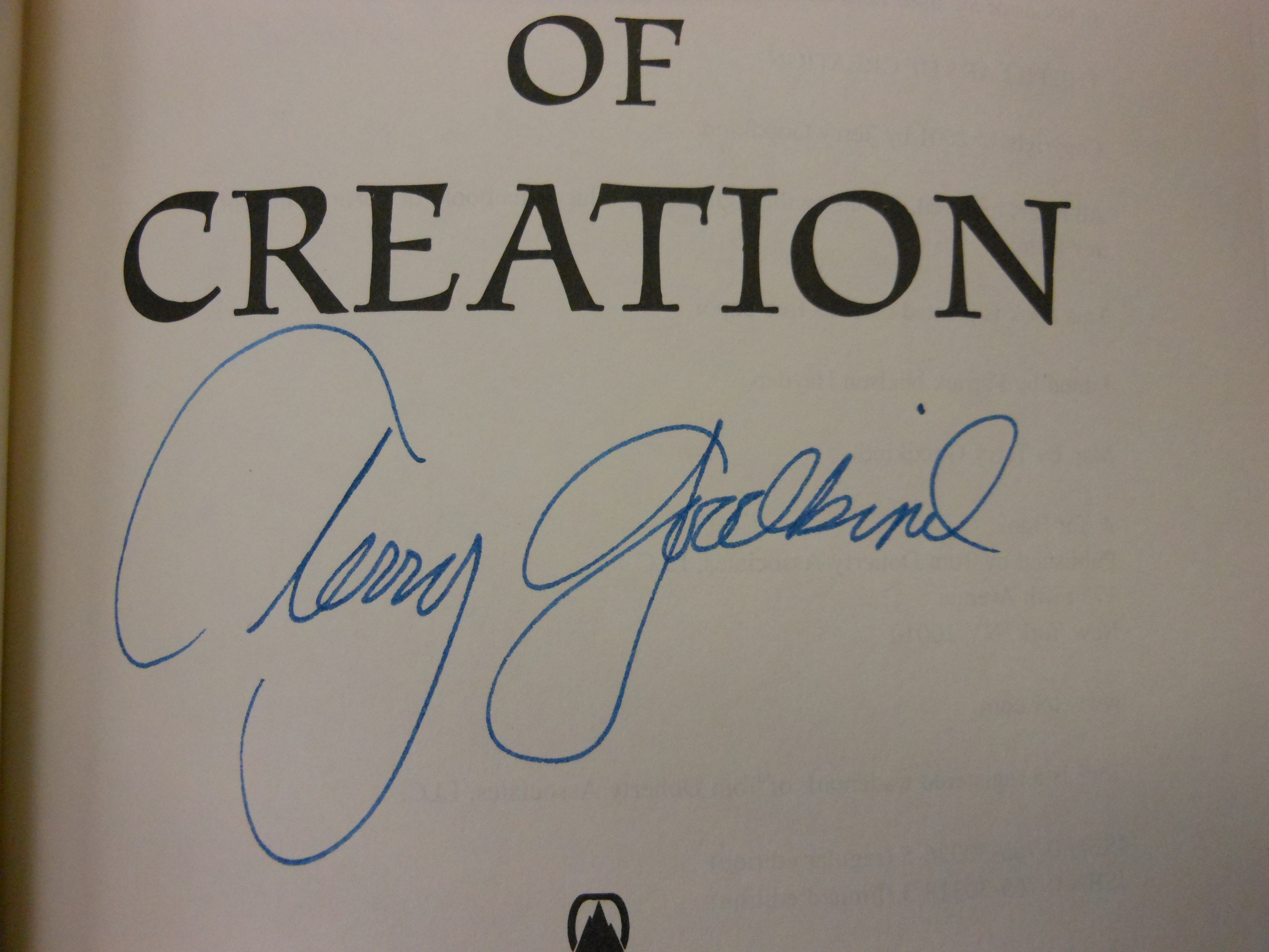 essays on terry goodkind